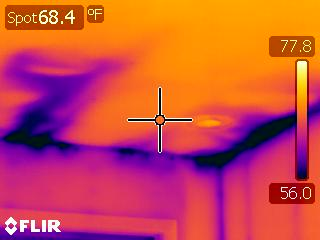 Infrared Mold Inspection in Westchester, Bergen, Rockland NY NJ 866 543-3257